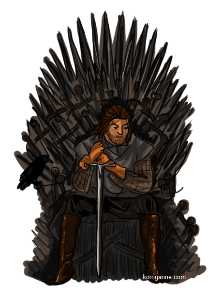 game of thrones, stark, le trone de fer