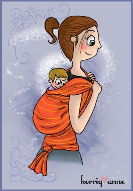 bébé porté 2