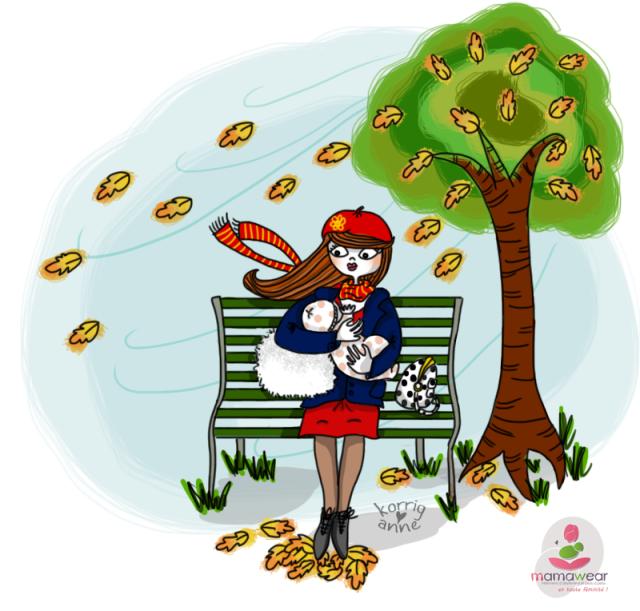 allaitement automne