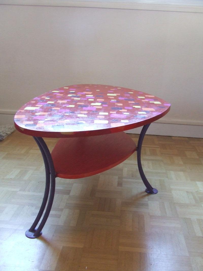 relooking de ma table basse l acrylique korrig 39 anne. Black Bedroom Furniture Sets. Home Design Ideas