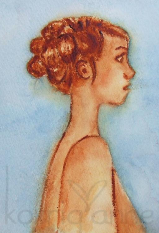 première aquarelle