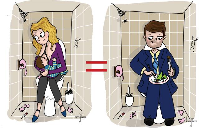 allaitement wc