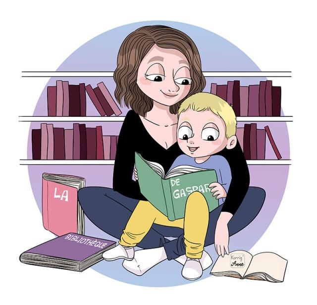 la bibliothèque de gaspard