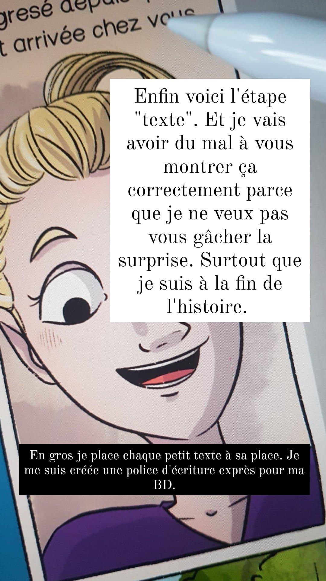 texte bd bande dessinée