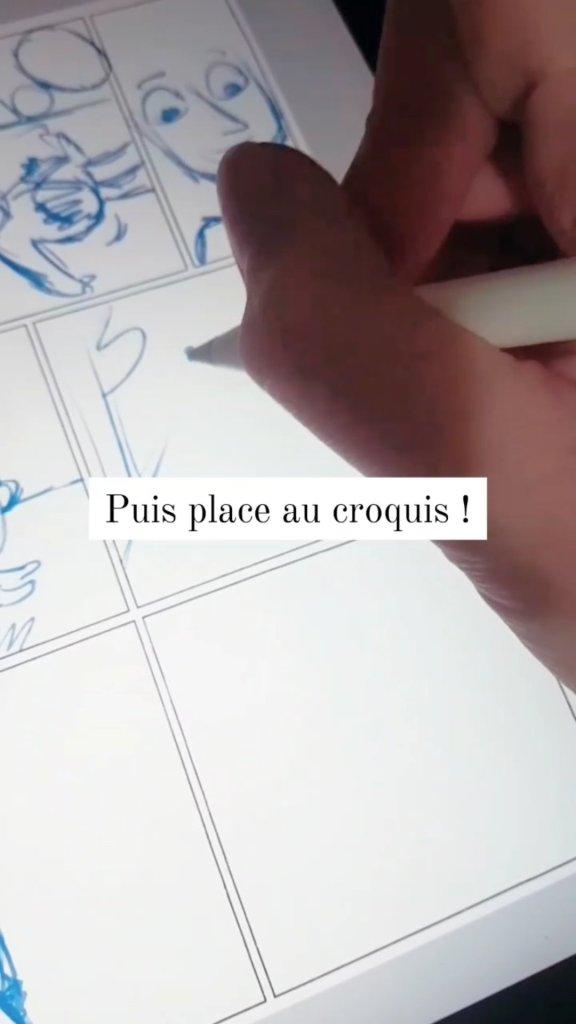 croquis dessin