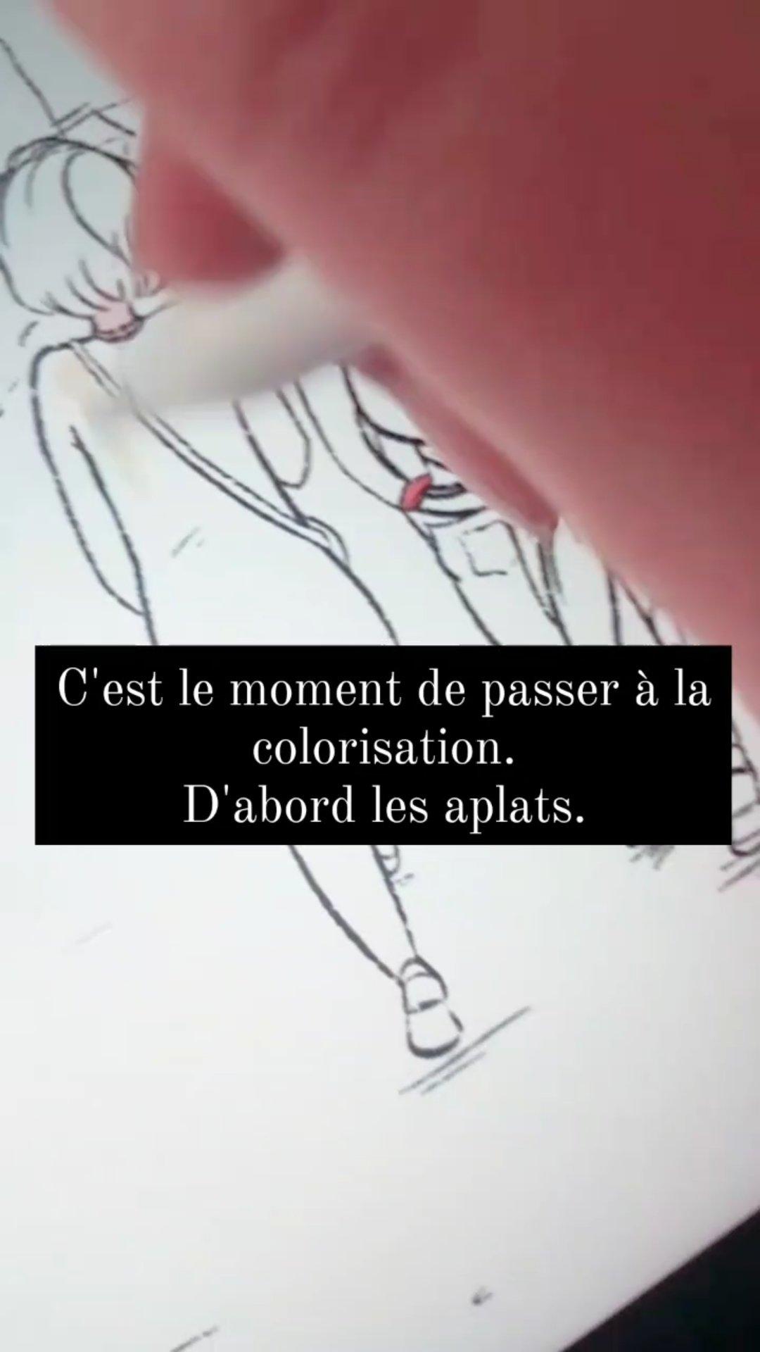 coloriage colorisation coloriste bd bande dessinée dessin illustration