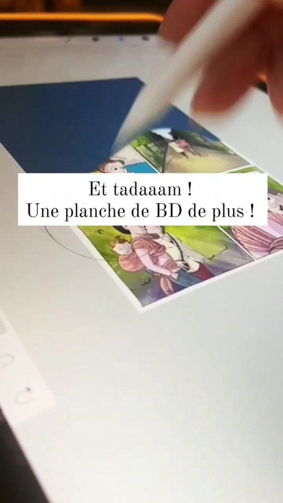 planche bd bande dessinée